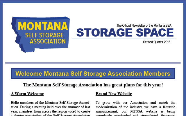 MTSSA Newsletter
